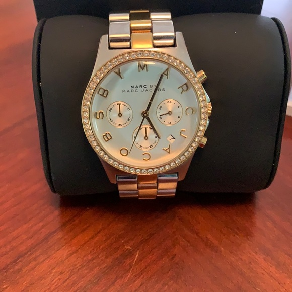 Authentic Silver Marc by Marc Jacob watch